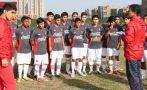 Perú Sub 17 de J. J. Oré perdió 3-0 con Uruguay en un amistoso