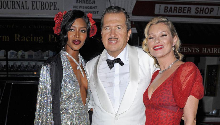 Mario Testino celebró sus 60 años con fiesta llena de estrellas