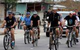 Ollanta Humala y Correa pasearon en bicicleta antes de Gabinete