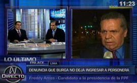 Caso Manuel Burga: Ames denuncia trabas a personera en Videna