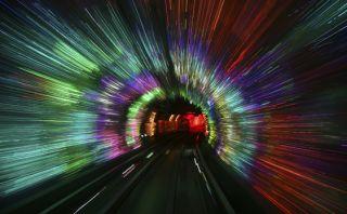 Curioso paseo: Este túnel es una popular atracción china