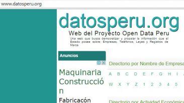 Datosperu.org multada con S/.228 mil por violar ley de datos