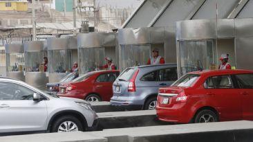 Peajes subirían aún más el 2015 en principales vías de Lima