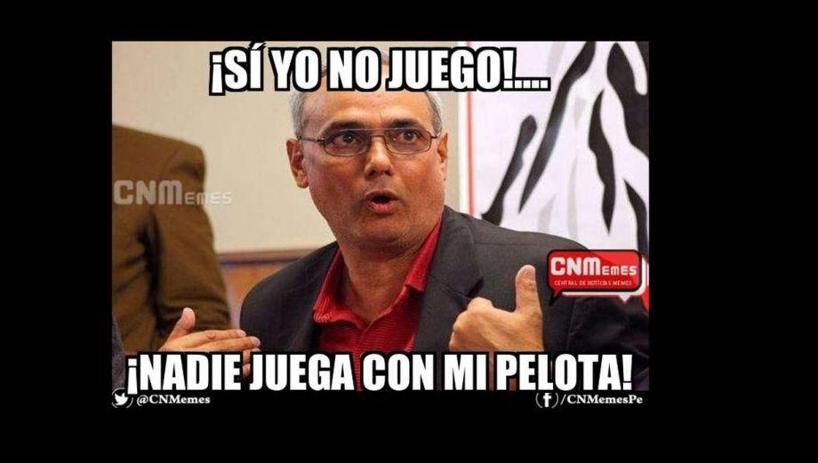 Manuel Burga: memes sobre postergación de elecciones en la FPF