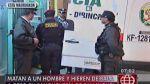 San Miguel: sicarios matan a balazos a cliente en sanguchería - Noticias de robo