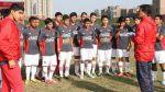 Perú Sub 17 de J. J. Oré perdió 3-0 con Uruguay en un amistoso - Noticias de sudamericano