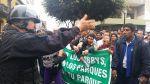 Serpar: protesta dispersada con lacrimógenas cerca del Congreso - Noticias de 90 segundos