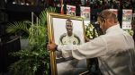Arquero sudafricano fue homenajeado por Ministerio de Deportes - Noticias de accidentes
