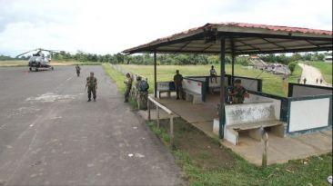 Comuneros de Nuevo Andoas desalojaron aeródromo