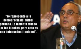 Manuel Burga y sus 10 frases en el frustrado proceso electoral