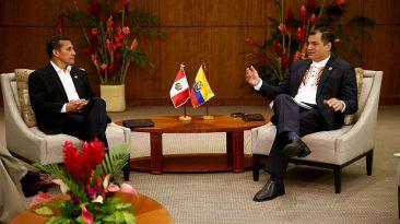 ¿Por qué Correa pidió disculpas a Humala y a Gabinete peruano?