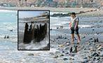 Barranco: fierros enterrados en playa son riesgo para bañistas