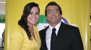 Marisel Linares y Christian Hudtwalcker en ATV noticias al día