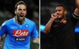 """Napoli-Roma, lo """"más temido"""" de este fin de semana en Italia"""