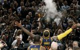 La 'autopresentación' de LeBron James en su regreso a casa
