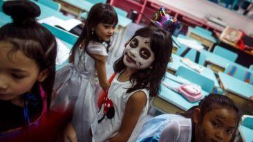 """""""En esta ciudad no quedan niños para celebrar Halloween"""""""