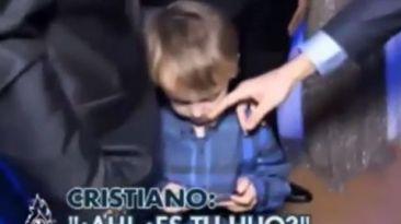 CR7 fue ignorado por hijo de Luka Modric en Gala de LFP