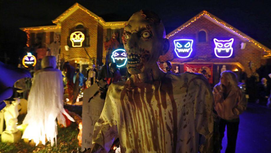Halloween se apoderó de las casas de Estados Unidos