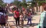 Balacera en pleno desfile de niños de inicial en México [VIDEO]