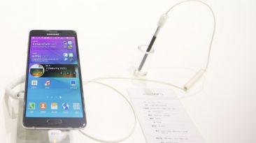 La Galaxy Note 4 de Samsung ya se vende en el Perú