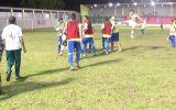 Partido de fútbol brasileño terminó en espectacular bronca