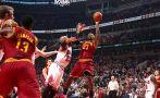 LeBron consiguió su primera victoria en regreso a Cleveland