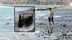 Barranco: fierros enterrados en playa son riesgo para bañistas - Noticias de accidente