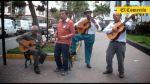 Adulto mayor: Denles una guitarra y un cajón y arman el jaranón - Noticias de essalud