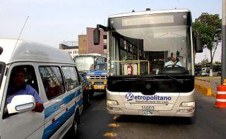 Metropolitano: extienden horarios de desvíos por procesión