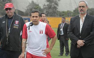"""Humala: """"Es una pena que el fútbol peruano sea castigado así"""""""