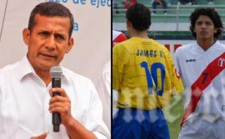 Humala y el paralelo que hizo entre Manco y James Rodríguez