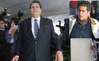 """Alan García califica de """"grave"""" denuncia contra Belaunde Lossio"""