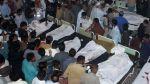 Atentado suicida deja 48 muertos y 50 heridos en Pakistán - Noticias de hora peruana