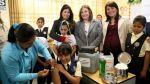 Escolares son vacunadas para prevenir el virus del papiloma - Noticias de campaña de vacunación