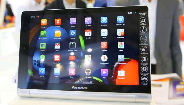 La Yoga Tablet 2 Pro de Lenovo tiene cámaras de 8 MP y 1,6 MP. (Foto: Reuters)