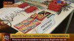 La venta ambulatoria de pirotécnicos está prohibida - Noticias de venta ambulatoria
