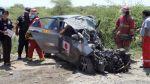 Choque frontal entre camión y auto dejó tres muertos en Piura - Noticias de accidente vial panamericana norte