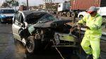 Tres heridos dejó choque de carro y camión en Panamericana Sur - Noticias de accidentes de tránsito