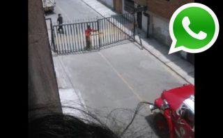 Vía WhatsApp: rejas impiden paso de bomberos durante incendio
