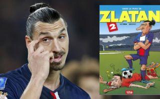 Luis Suárez muerde a Zlatan Ibrahimovic y se rompe los dientes