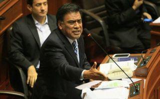 Velásquez Quesquén vincula a Ollanta Humala con Belaunde Lossio