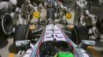 F1: Massa cometió un 'blooper' y se metió en boxes de Mercedes - Noticias de marcos senna