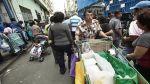Ambulantes retirados de Gamarra llegan a Mesa Redonda - Noticias de jiron andahuaylas