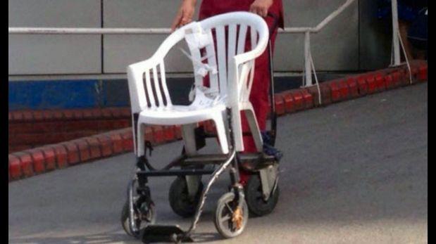 Argentina pol mica por sillas de ruedas caseras en for Sillas de ruedas usadas