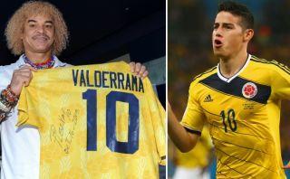 Pibe Valderrama rechazó ser comparado con James Rodríguez