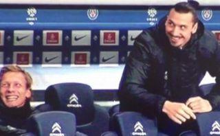 Zlatan Ibrahimovic le hizo una broma pesada al médico del PSG