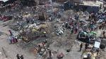 Incendio en Mercado La Hermelinda dejó estos escombros [Fotos] - Noticias de mercado la hermelinda
