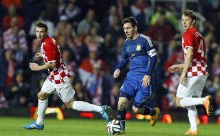 Argentina ganó 2-1 a Croacia: gol de Messi y retorno de Tevez