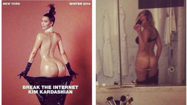 Kourtney kardashian desnudo falso