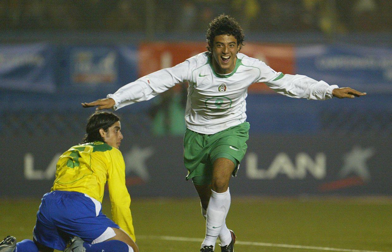 Carlos Vela fue el goleador del Tri en Perú 2005